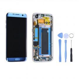 Ecran complet d'origine Samsung Galaxy S7 Edge G935F Bleu
