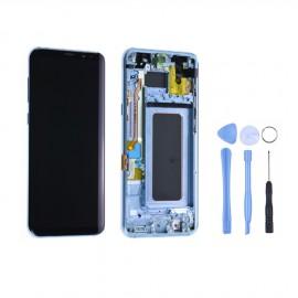 Ecran complet d'origine Samsung Galaxy S8 Plus G955F Bleu