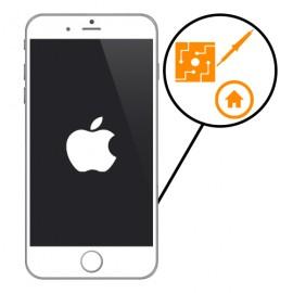 Soudure carte mère connecteur FPC bouton home iPhone
