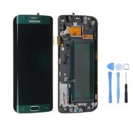 Ecran complet d'origine Samsung Galaxy S6 Edge Vert + Outils