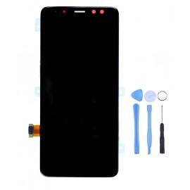 Ecran complet d'origine Samsung Galaxy A8 Noir
