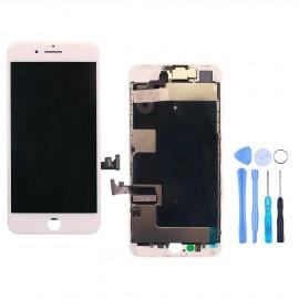 Ecran complet iPhone 8 Plus Blanc + Outils