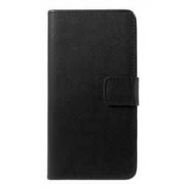 Étui portefeuille noir iPhone Xr
