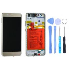 Ecran Huawei P10 Lite châssis + batterie Or