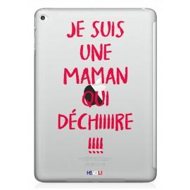 """Coque """"Maman qui déchire"""" iPad Hevoli ®"""