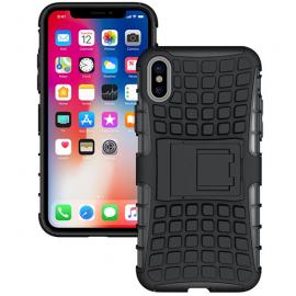 Coque anti-choc noire iPhone X / XS