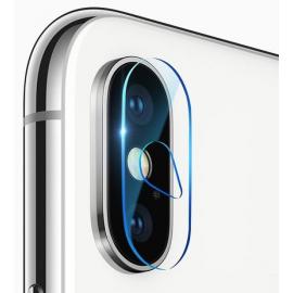 Film en verre trempé lentille caméra arrière iPhone Xs Max