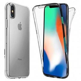 Coque silicone intégrale iPhone Xs Max