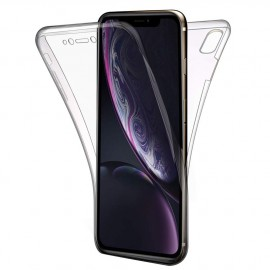 Coque silicone intégrale iPhone XR