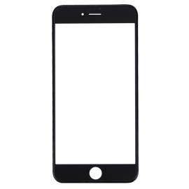 Vitre tactile avec châssis et film OCA iPhone 7 Noir
