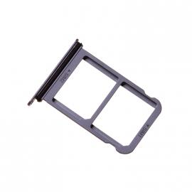 Tiroir double carte SIM Huawei P20 Bleu
