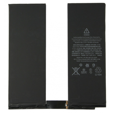 "Batterie interne iPad Pro 10.5"""
