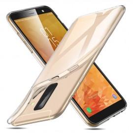 Coque en silicone transparente Galaxy A6 +