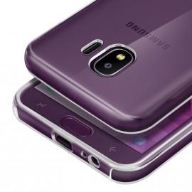 Coque silicone transparente Samsung Galaxy J4 2018
