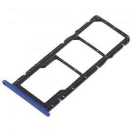 Double Tiroir SIM + SD Honor 8X Bleu