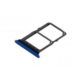 Tiroir Sim + SD Huawei Mate 20 Bleu