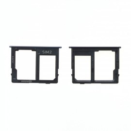 Double Tiroir SIM/ SD Samsung Galaxy J4+ / J6+ (2018) Noir
