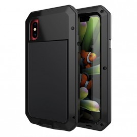 Coque Lunatik iPhone XR Noir