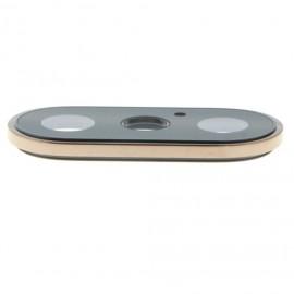 Lentille caméra arrière + contour iPhone Xs Max Or