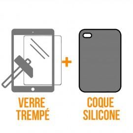 """Coque rigide + verre trempé iPad Pro 9,7"""""""