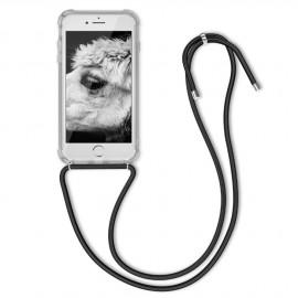 Coque cordon noir iPhone 7 / 8