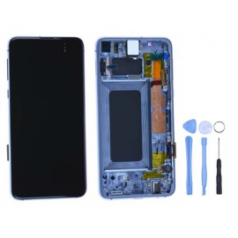 Ecran Samsung Galaxy S10e Bleu d'origine Samsung + outils