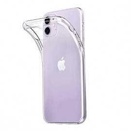 Coque silicone transparente iPhone 11