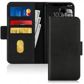 Etui portefeuille noir iPhone 11 Pro