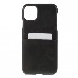 Coque porte-cartes noir iPhone 11