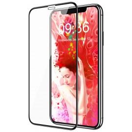 Film en verre trempé avec contour noir iPhone 11 Pro