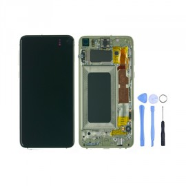 Ecran Samsung Galaxy S10e Jaune d'origine Samsung + outils