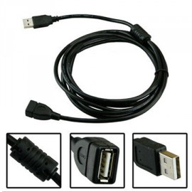 Câble USB mâle vers USB femelle - 3 mètres
