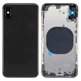 Coque arrière iPhone XS Gris sidéral