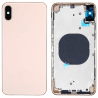 Coque arrière iPhone Xs Max Or