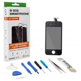 Kit complet réparation écran iPhone 4S Noir