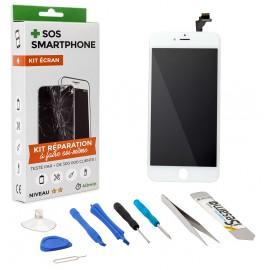 Kit complet réparation écran iPhone 6 Plus Blanc