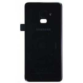 Vitre arrière Samsung Galaxy A8 2018 Noir