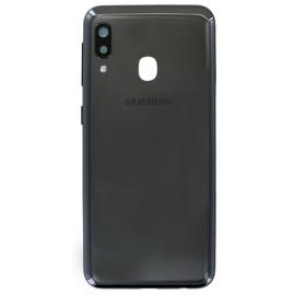 Vitre arrière Samsung Galaxy A20e Noir