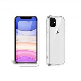 Coque rigide + verre trempé iPhone 11