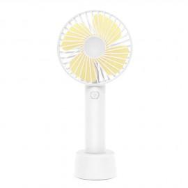 Ventilateur portatif 3 vitesses Blanc