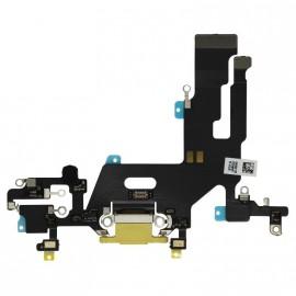 Connecteur de charge iPhone 11 Jaune