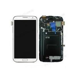 Vitre + LCD Samsung Note 2 Blanc N7100