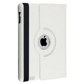 Etui cuir 360° blanc iPad 2 / 3 / 4