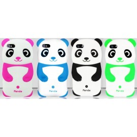 Housse en silicone Panda iPhone 5/5S/SE