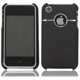 Coque chrome Noir iPhone 3G/3GS