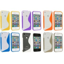 Housse silicone S-LINE iPhone 5