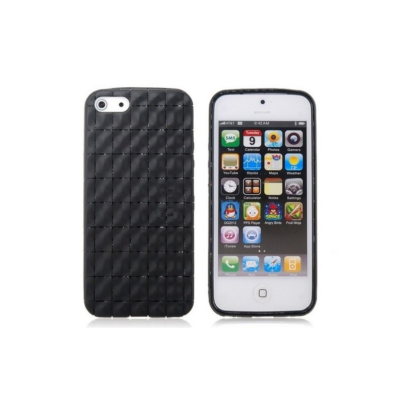 Housse silicone damier pour iphone 5 5s se for Housse pour iphone