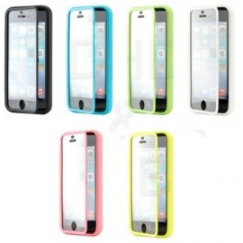 Housse silicone intégrale iPhone 5c
