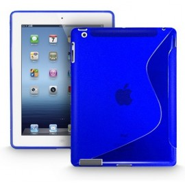 Housse S line bleu iPad 2 / 3 / 4