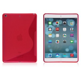 Housse silicone S Line Rose iPad Air